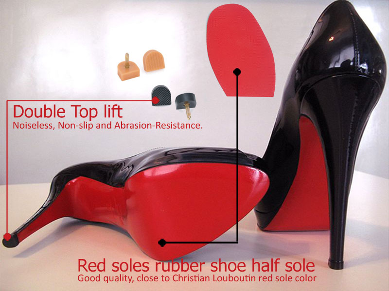 sale retailer 89fd5 f497c Protect Christian Louboutin red sole shoes